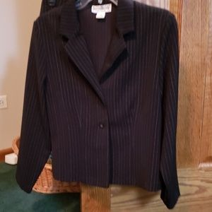 Blazer and skirt suit